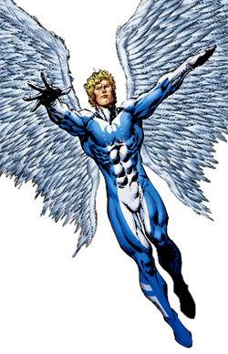 Kelso s Gr8 DanesX Men Angel Wings Scene